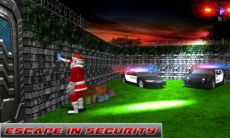 Crazy Santa Stealth Survival Mission