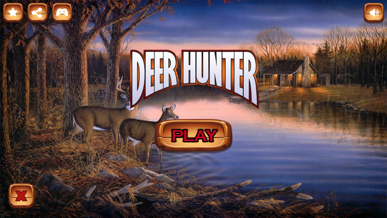Deer Hunting - Sniper Shooter