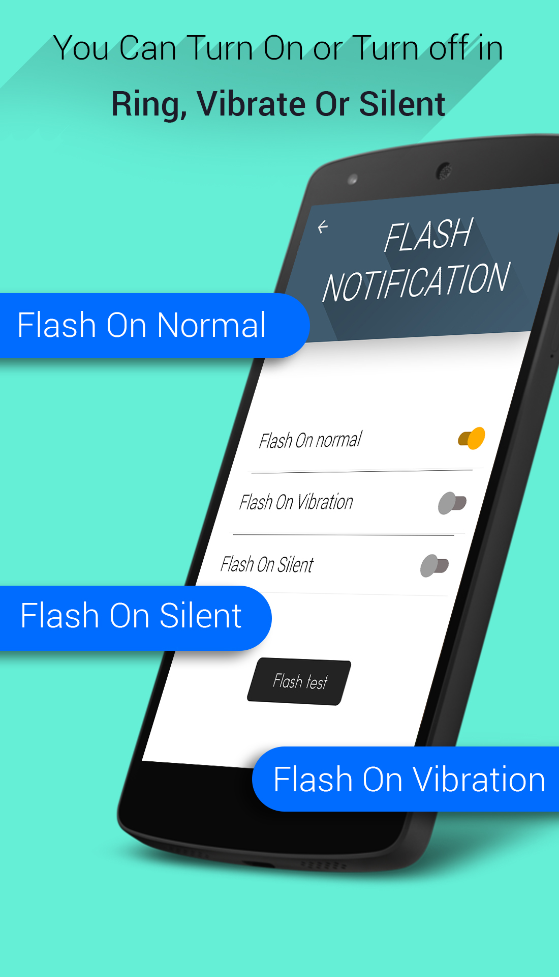 Flashlight Alerts :Flash alert
