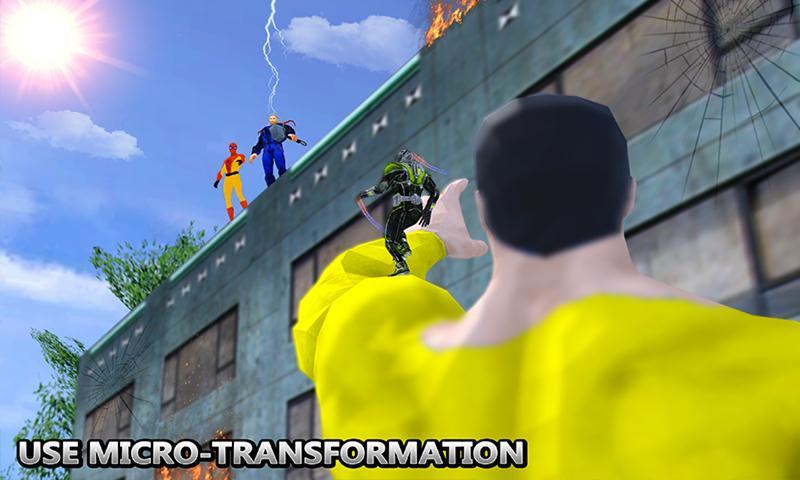 Grand Ant Flying Hero City Battle