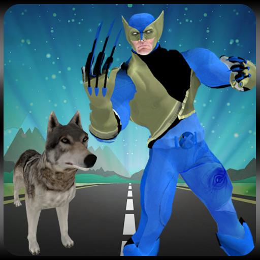 Multi Claw Blade Wolf Hero vs Czarnian Villain