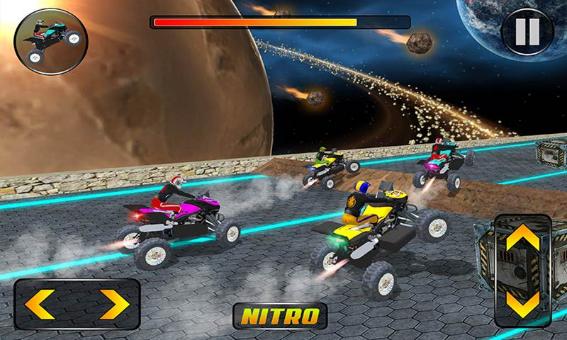 Pro ATV Bike Stunts Game