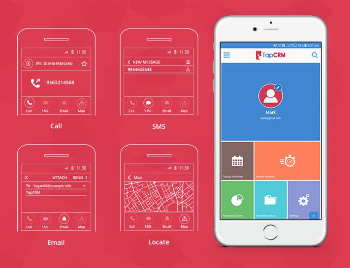 TapCRM - Mobile CRM App