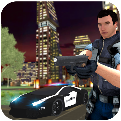 Virtual Police Hero City Crime