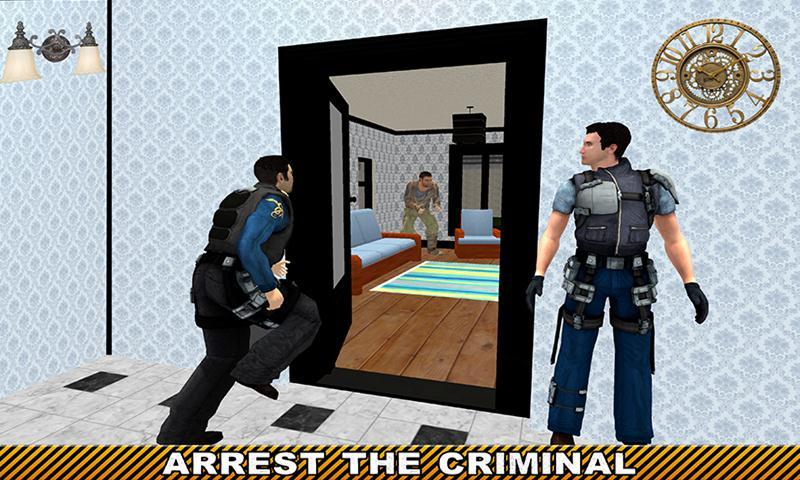 Virtual Police Hero City Crime