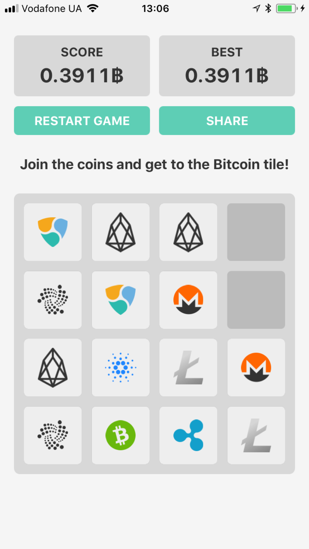 2048 Coins Crypto Puzzle