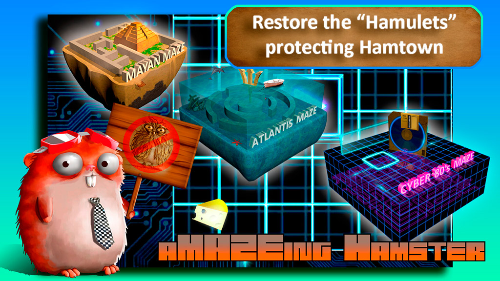 aMAZEing Hamster: A Roll a Ball Adventure