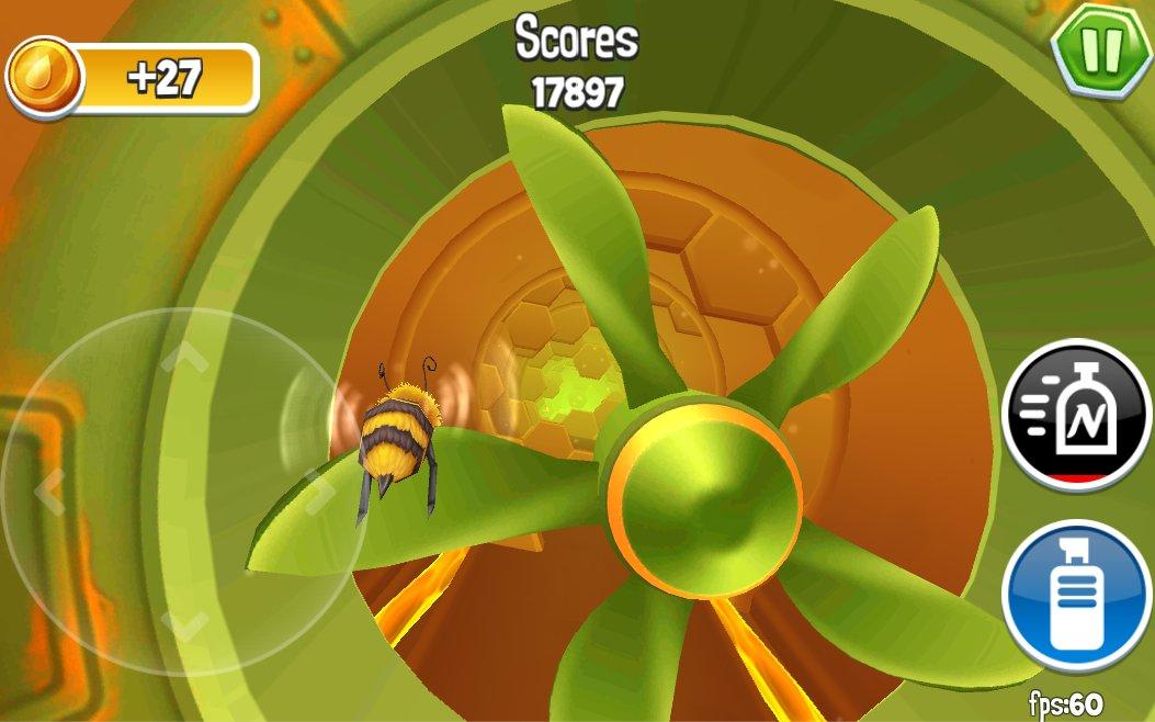 Arcade Bugs Fly