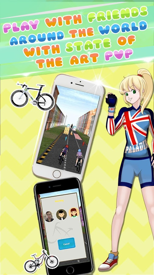 Bike ME:Extreme 3D Biking Game