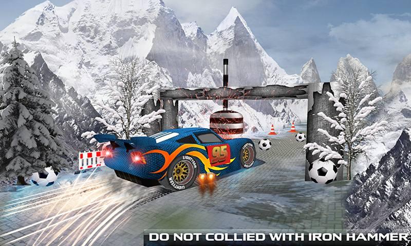 Extreme Superheroes Racing Car Stunts