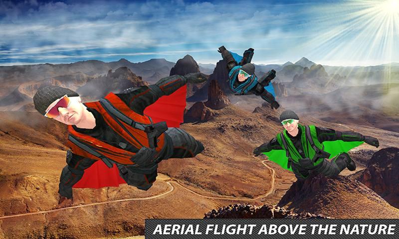 Fanatic Sky Divers Impossible Stunts