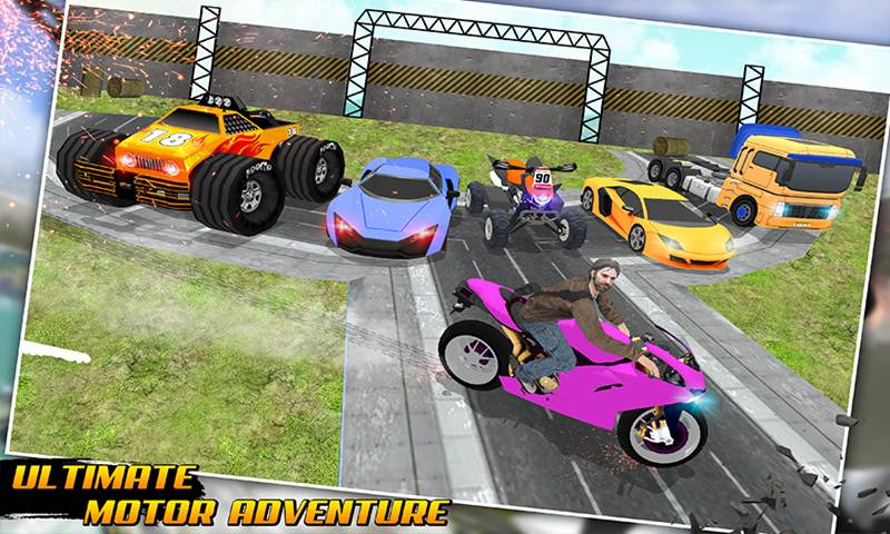 Impossible Car City Mega Ramp 3D