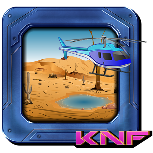 Knf Escape From desert using helicopter
