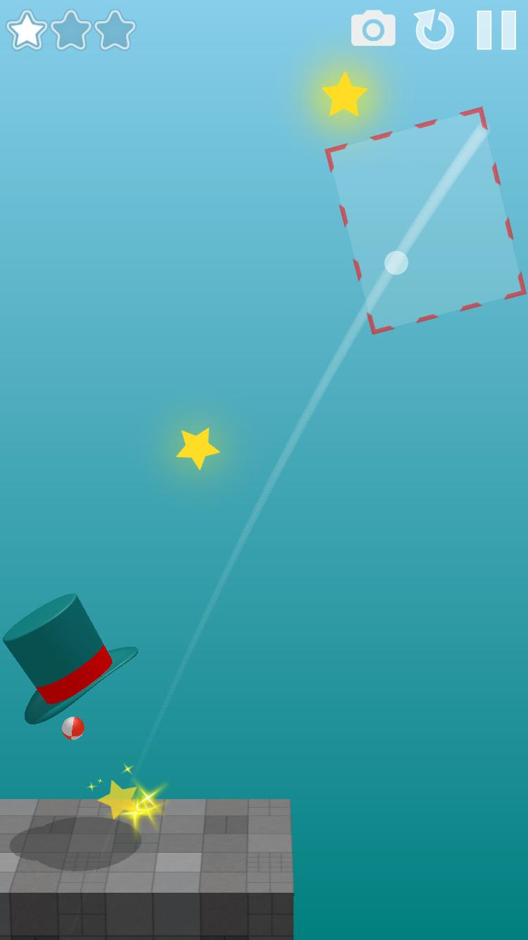 Magic Hat: a physics puzzle