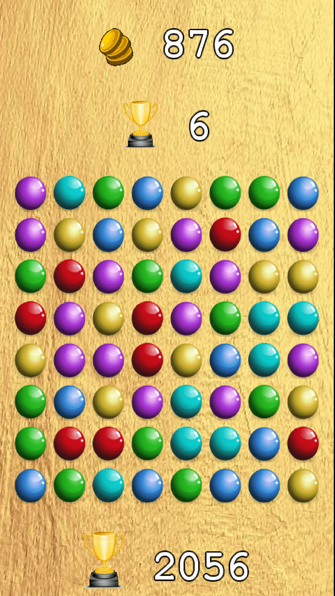 Match 3 Balls Crush Puzzle Game