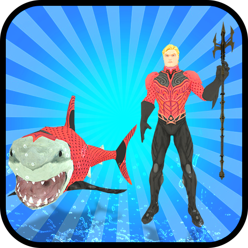 Multi Aqua Shark Hero Vs Sea Animals