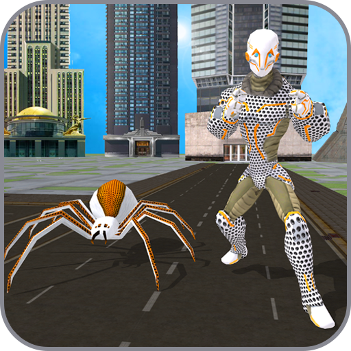 Multi Spider Robot Hero City Crime