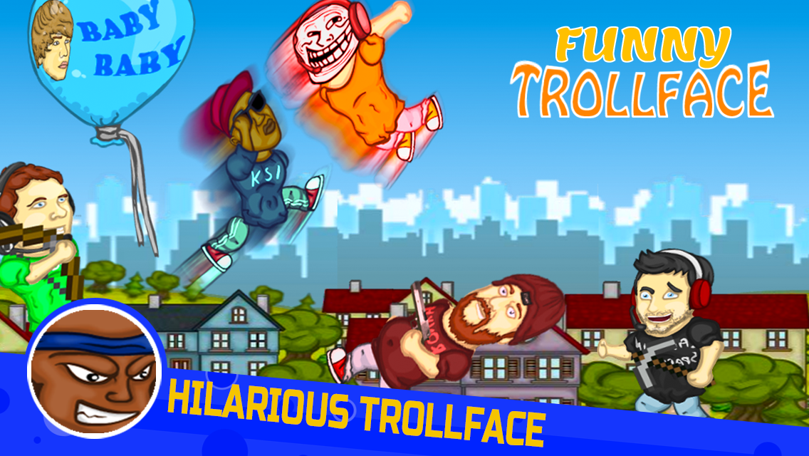 Punch Troll Face Meme