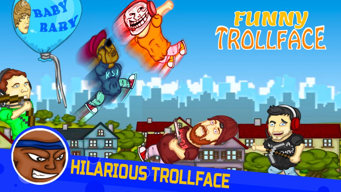 Punch Troll Face Meme