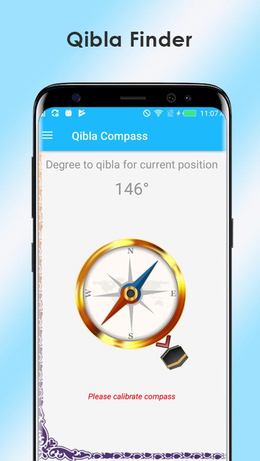 Qibla Direction Finder