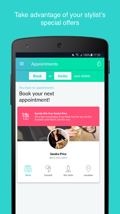 Ring My Stylist - Appointment Scheduling System