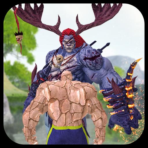 Rock Monster Jungle Sim