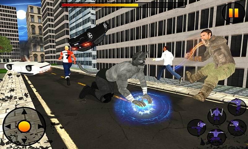 Super Cat Hero City Crime Battle