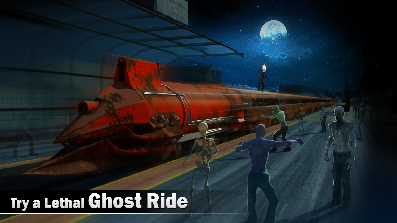 Train Driver 2018 Ghost Ride Games