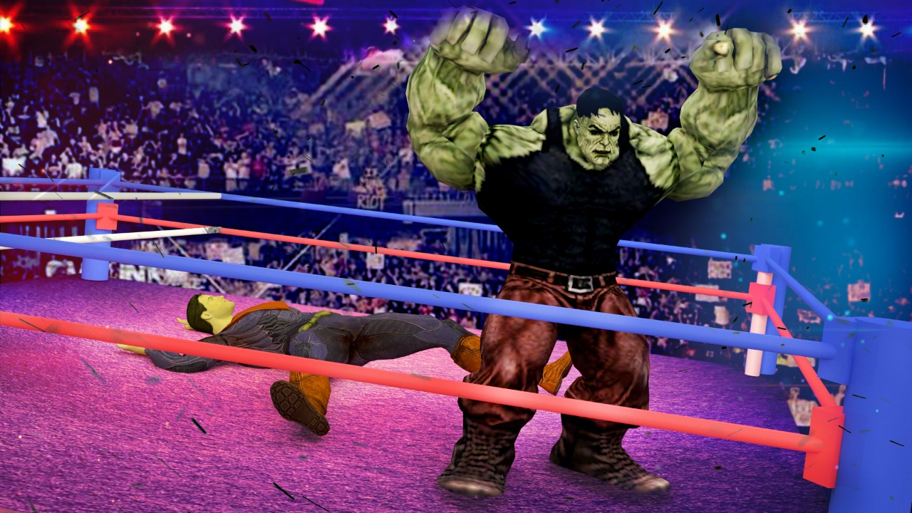 Ultimate Superhero Wrestling Free Game 2018