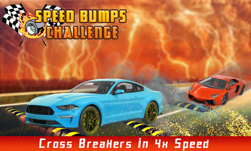 100 speed bumps challenge : car simulation