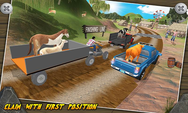 Animal Transport ATV Truck Racing