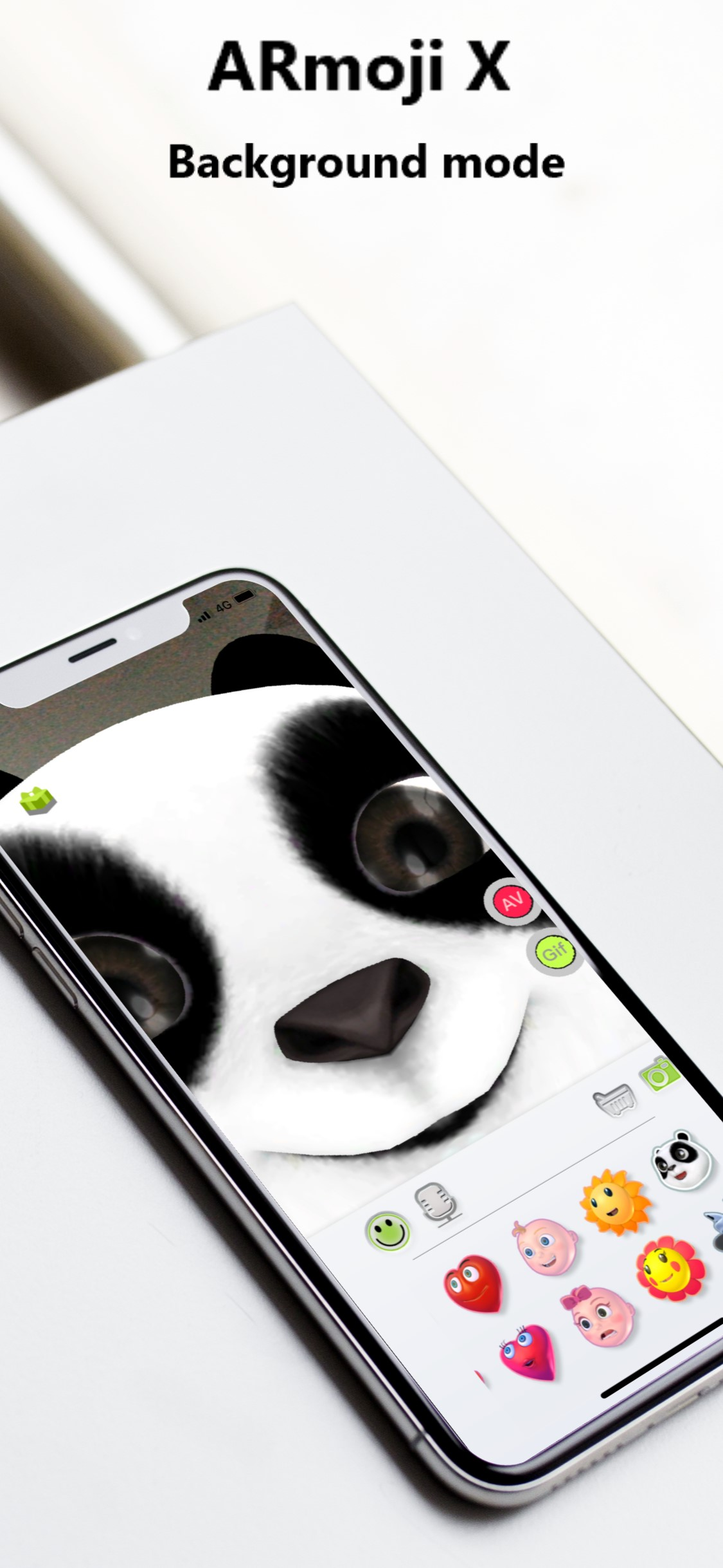 ARmoji X - Face U AR Emoji