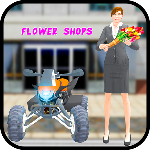Flower Delivery Bike Simulator