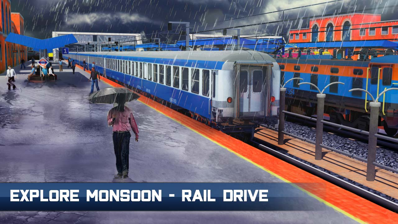 Indian Train Simulator : Train Games