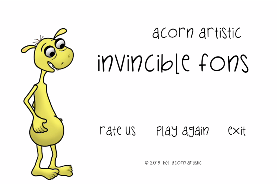 Invincible Fons - a short platform game