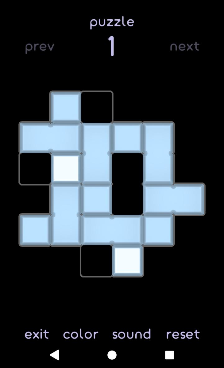 Merge the blocks: Slide puzzle
