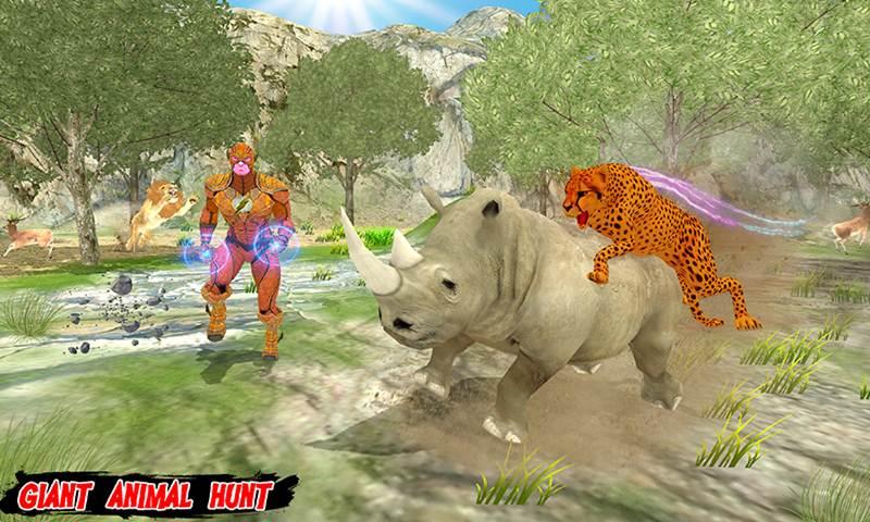Multi Cheetah Speed hero Vs Wild Animals