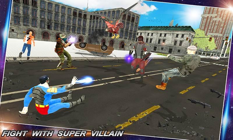 Multi Eagle Soldier Hero Vs Super Villain