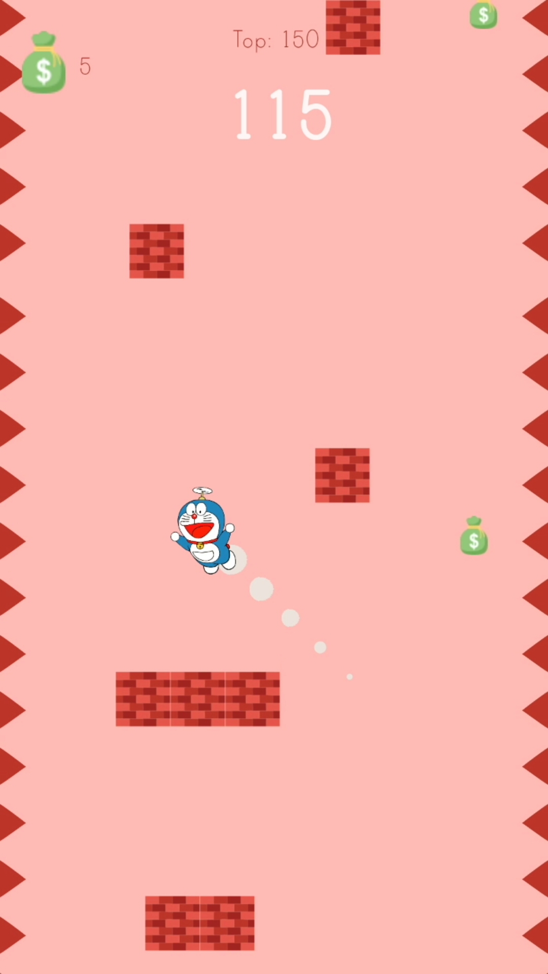 Push Me High - The Doraemon Game