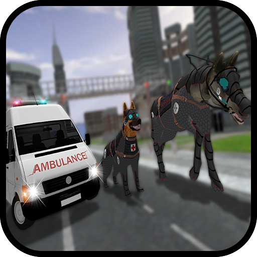 Robotic Dog Transform Ambulance Horse Rescue