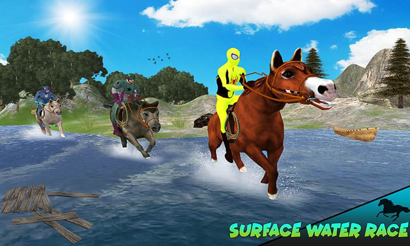 Super Cliff Horse Sim: Rescue missions
