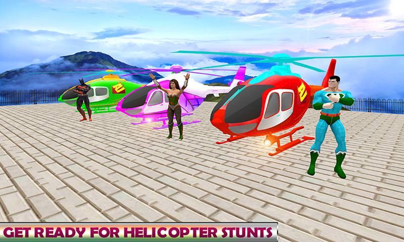 Superhero RC Chopper Stunt Simulator