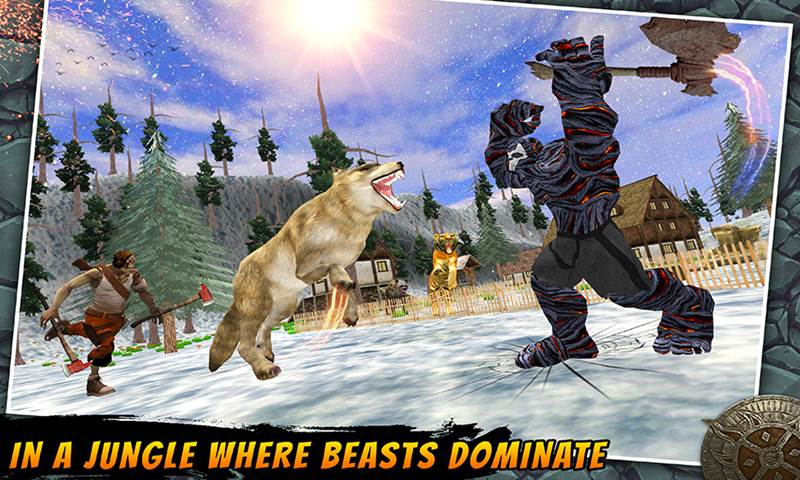 Ultimate Wild Wolf Vs Ugly Monsters