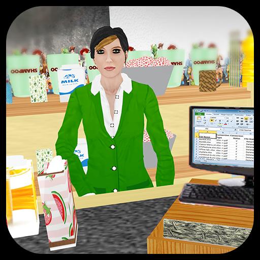 Virtual Supermarket Grocery Clerk Simulator