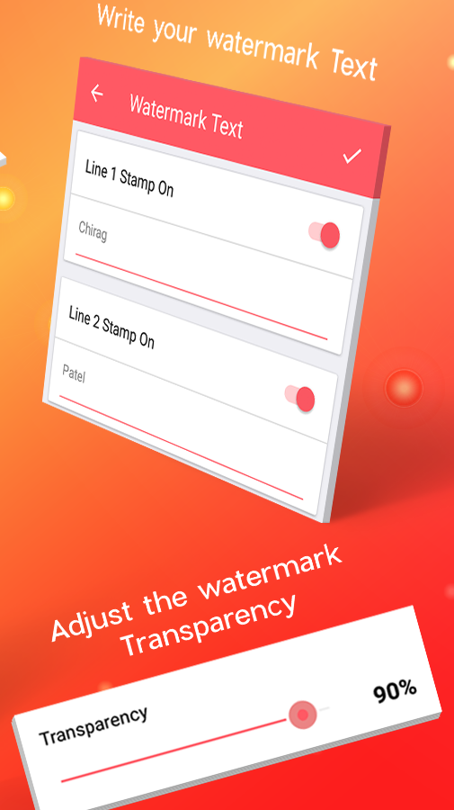 Watermark Stamp: Add Copyright Logo, Text on Photo