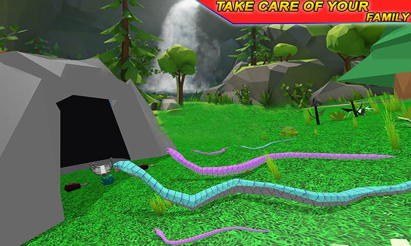 Anaconda Snake Family Simulator
