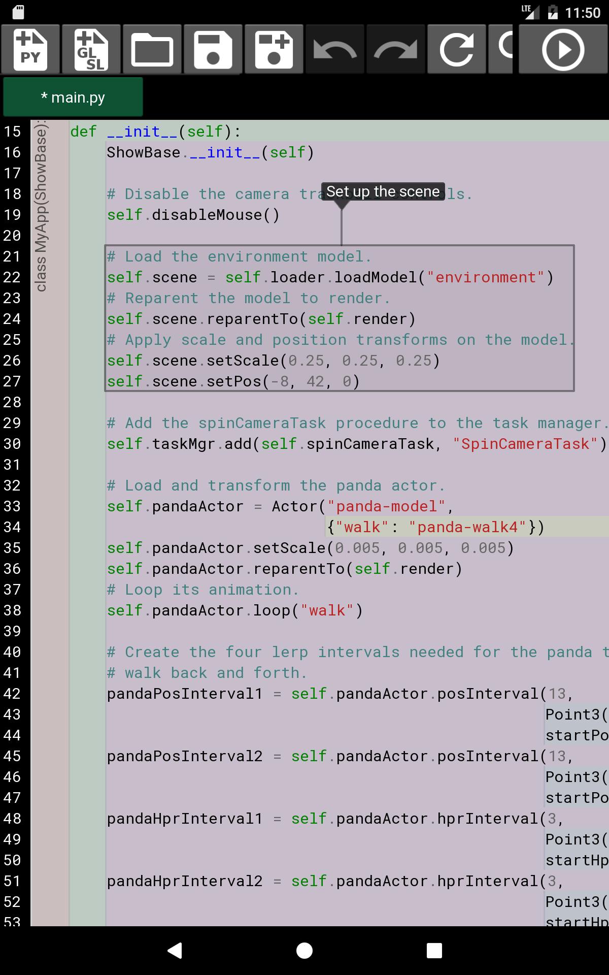 Cub3D - Python 3.6 3D Programming IDE