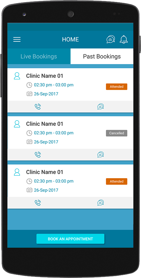 DRCITAS – MEDICAL (PATIENT) APPOINTMENT SCHEDULING APP