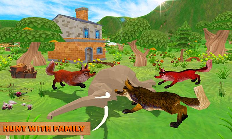 Fox Family Fantasy Simulator
