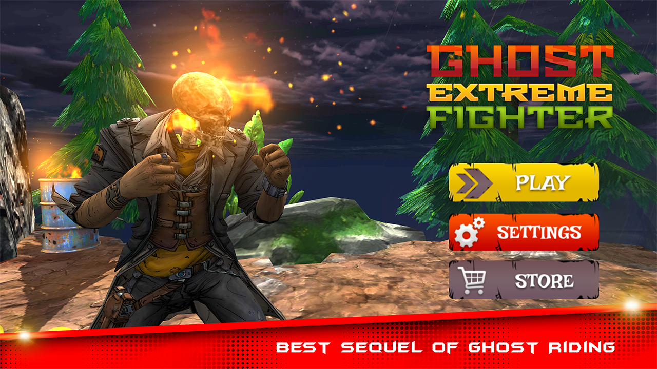 Ghost Extreme Fighter - Fighting Games